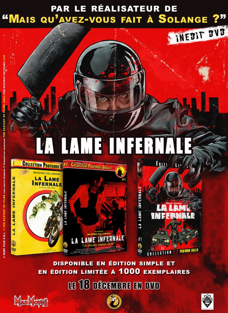 La Lame Infernale DVD