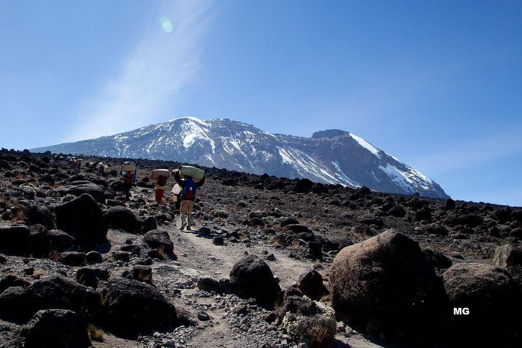 Kilimandjaro porteurs
