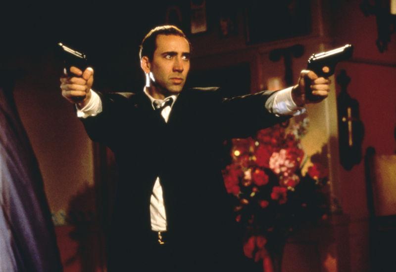Nicolas Cage Volte Face