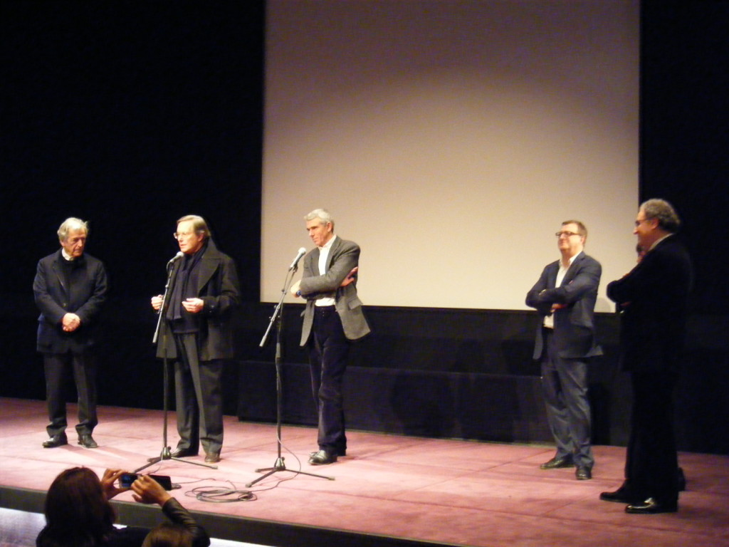 Costa-Gavras, William Friedkin, Serge Toubiana, JF Rauger