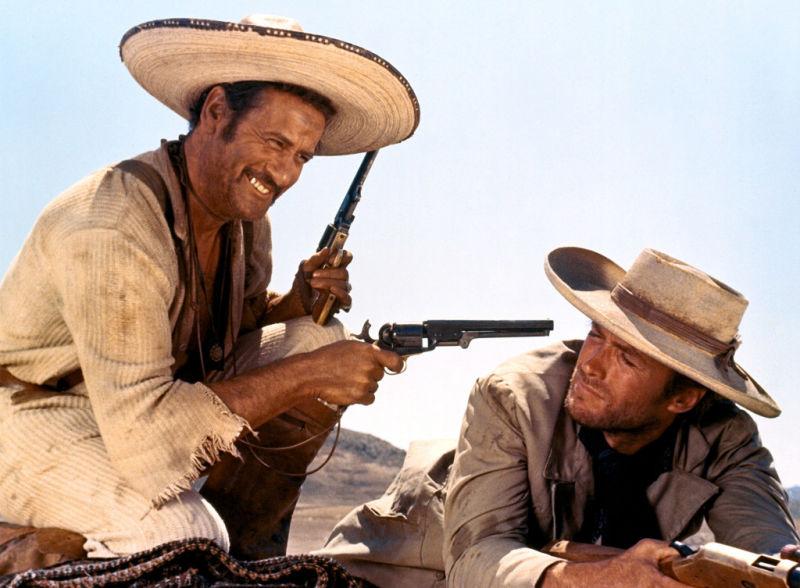 Le Bon la brute et le truand Wallach Eastwood