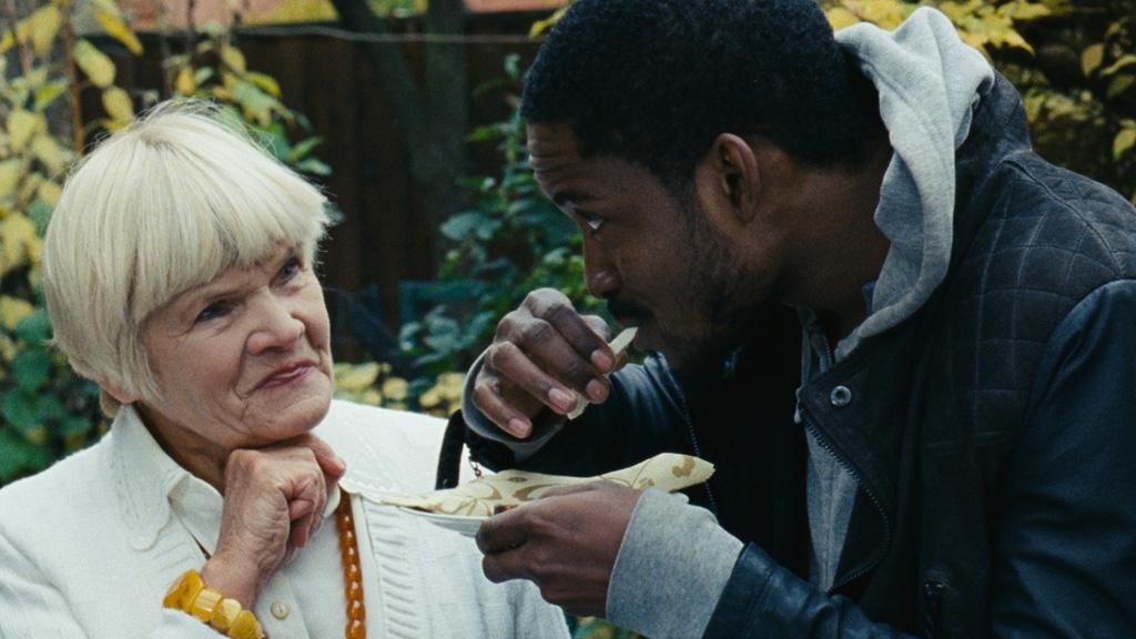 Still_Luke_actor_Ebeneezer_Nii_Sowah_and_Luke's_grandma_ac tress_Olita_Dautartaitė