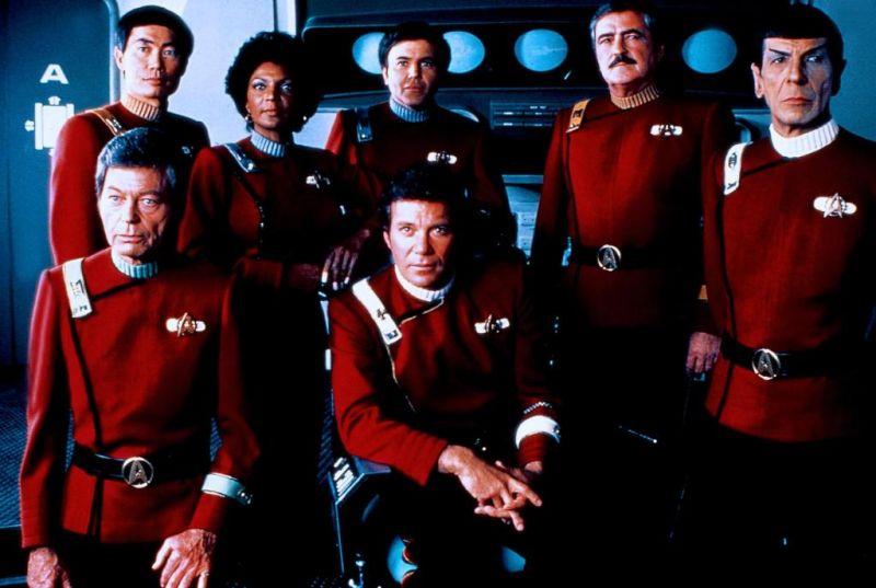 L'équipage de lEnterprise