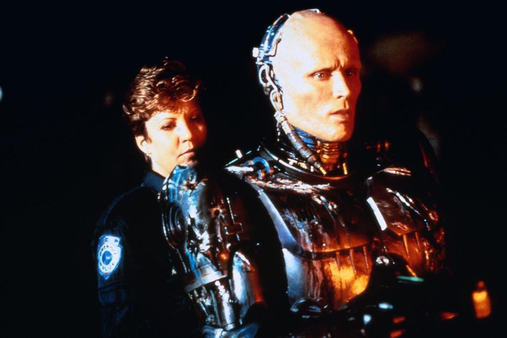 Nancy Allen Peter Weller Robocop