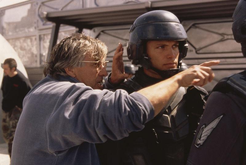 Paul Verhoeven Casper Van Dien Starship Troopers