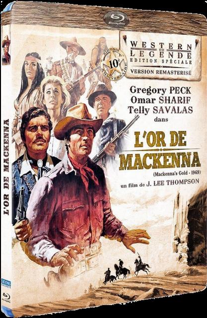 L'Or de Mackenna Blu-ray