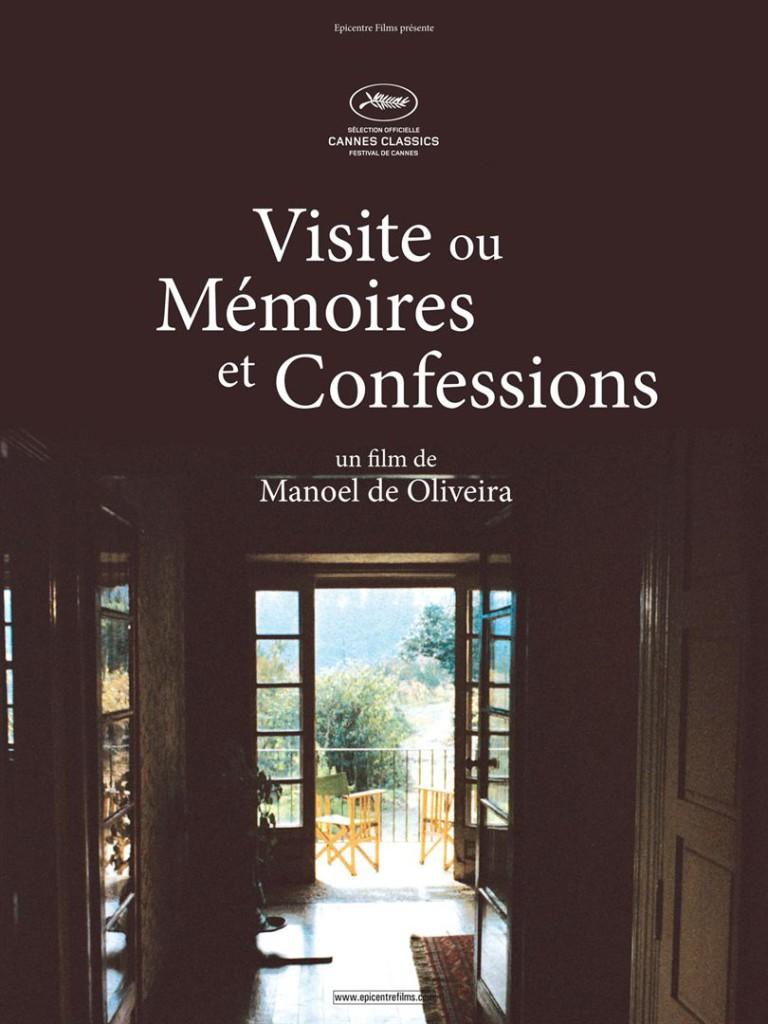 Visite ou mémoires et confessions Affiche