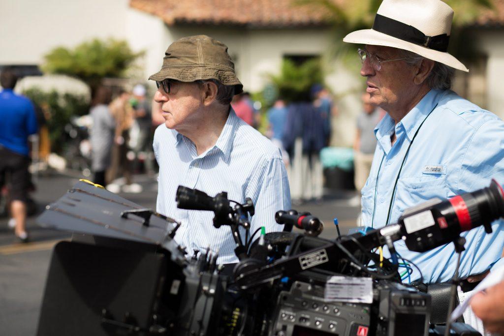 Woody Allen et Vittorio Storaro