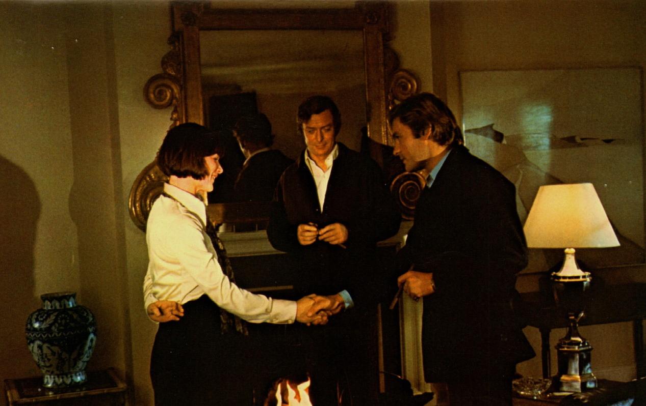 Glenda Jackson Michael Caine Helmut Berger