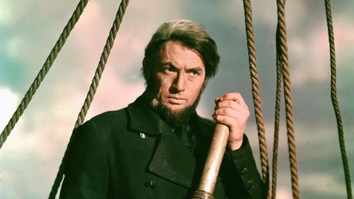 Gregory Peck Moby Dick John Huston