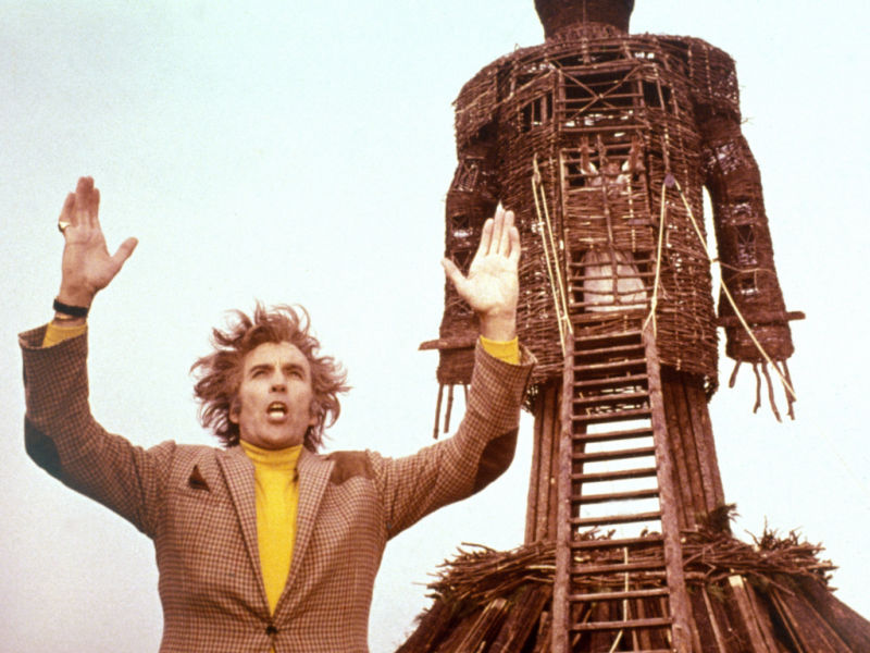 Christopher Lee The Wicker Man