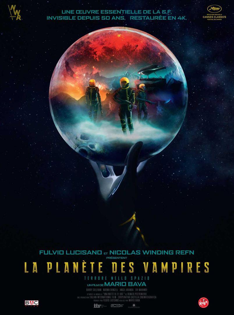 La planète des vampires affiche